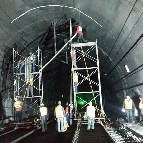 地铁隧道堵漏(地铁漏水怎么处理)